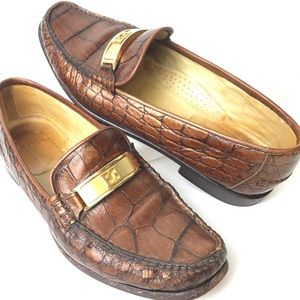 Escada Leather Moccasin Loafer Made in Italy, 6.5
